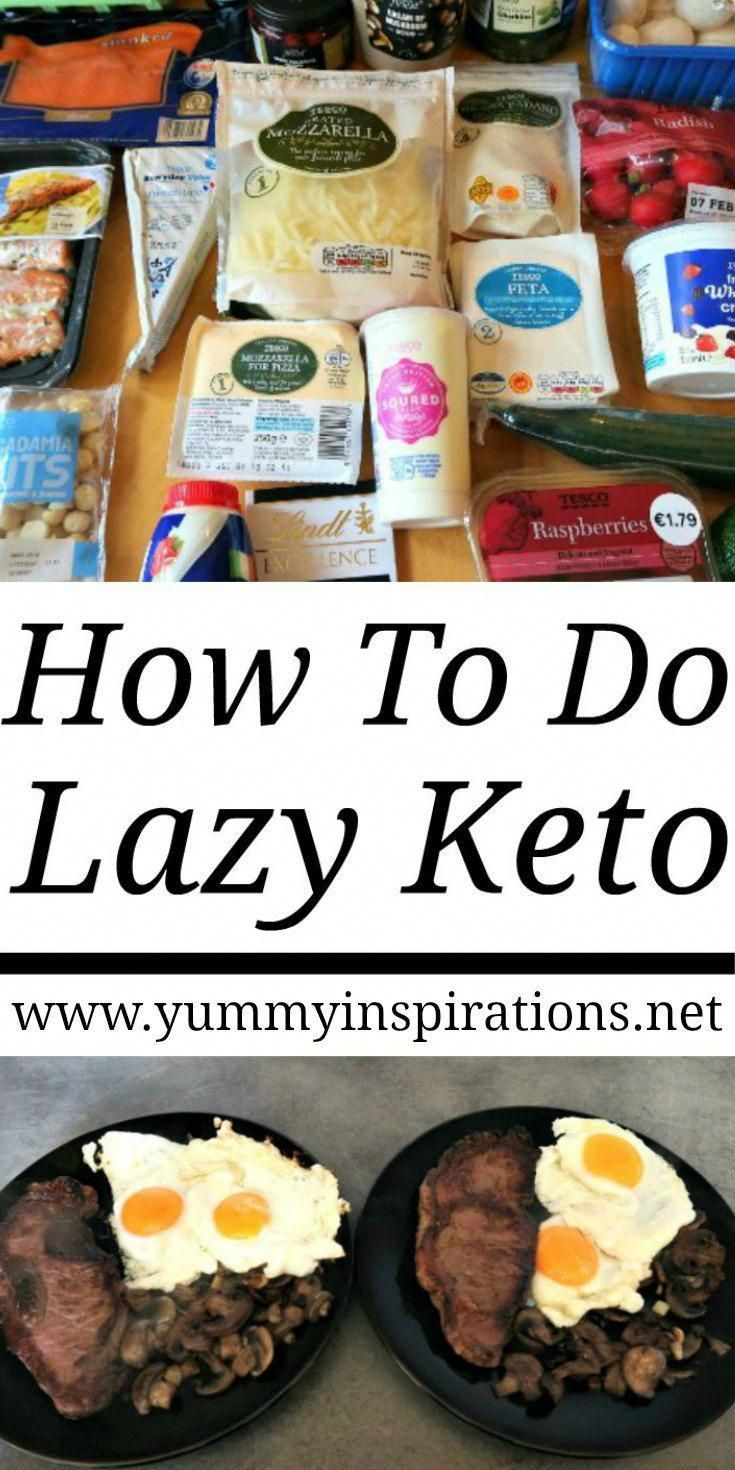 How to do lazy keto what is lazy keto cooking lazy keto