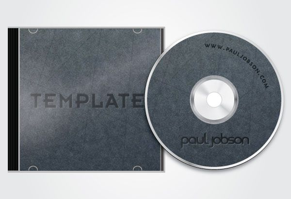 Vector CD and CD Cover Design Template Free Packaging and vector - compact cd envelope template