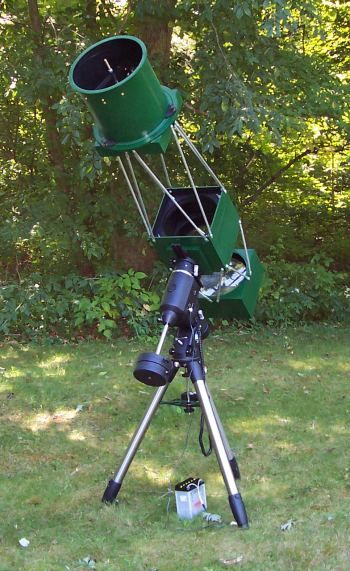 Building a 10 inch f/6 telescope - Construction pictures