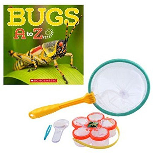 Backyard Explorer Bug Study Bundle with Book Backyard Travels & Scholastic $14.75 #bugs #summer #net #study #bugsatoz #book #funinthesun #backyard #bugcatching #entomology #homeschool #study #insects http://www.amazon.com/dp/B013JI2QZ6/ref=cm_sw_r_pi_dp_GNnZvb03XSQXN