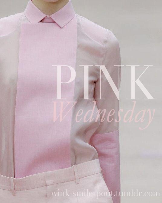 [Inspiration] Beautiful Pink Wednesday
