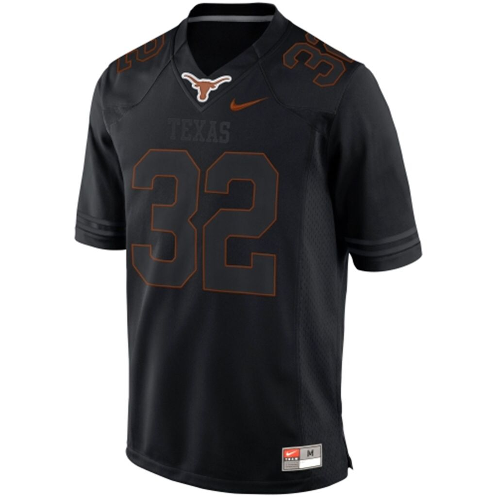new styles 774a3 2e805 Black Texas Longhorns football jersey   clothes/hats/shoes ...