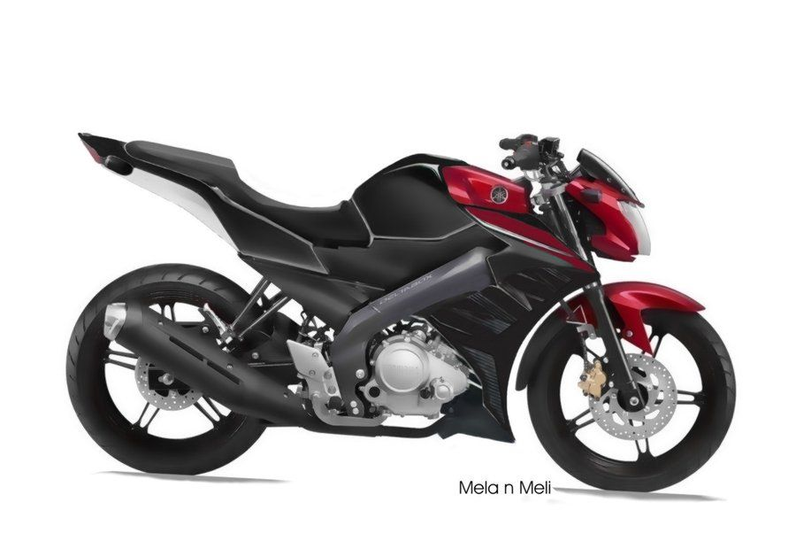 Modif New Vixion Hitam Merah Modif Motor Motor Hitam Merah
