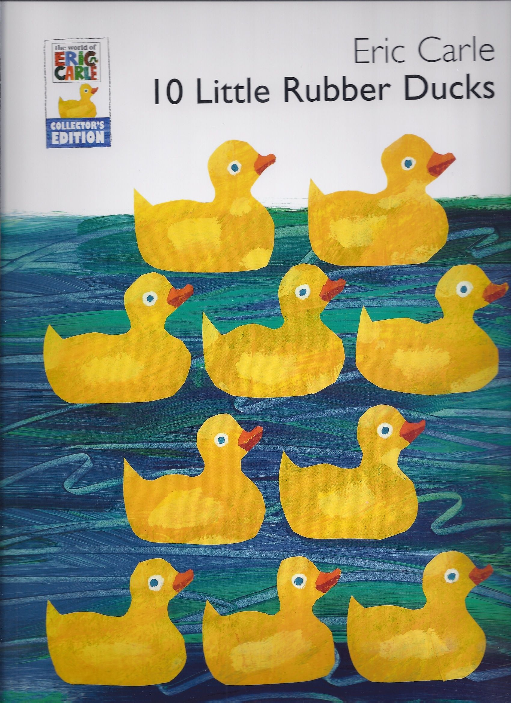 10 Little Rubber Ducks Rubber Duck Eric Carle Ordinal Numbers