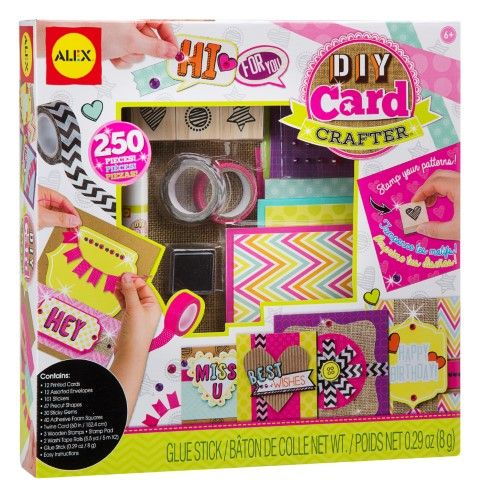 Alex Toys Craft Diy Card Crafter Alex Toys Toy Craft Diy Cards
