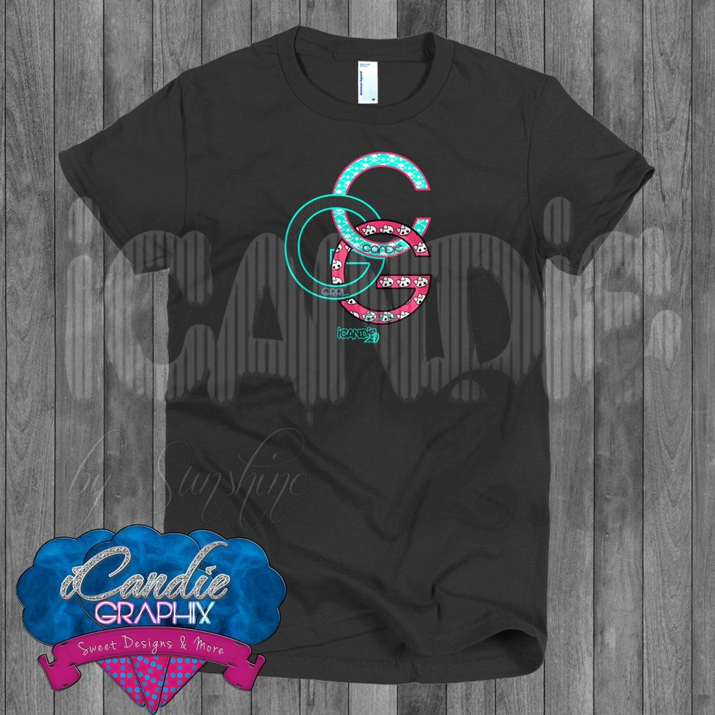 190bac29e iCandie Graphix Candie Grrl Gang - CGG - Short sleeve women's t-shirt - Custom  Graphic Tees - Women's Graphic Tee - Ratchet Life