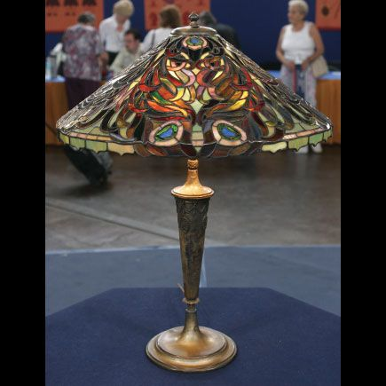 Early 20th Century Duffner U0026 Kimberly Lamp Appraised Value: $25,000    $35,000 Appraised On