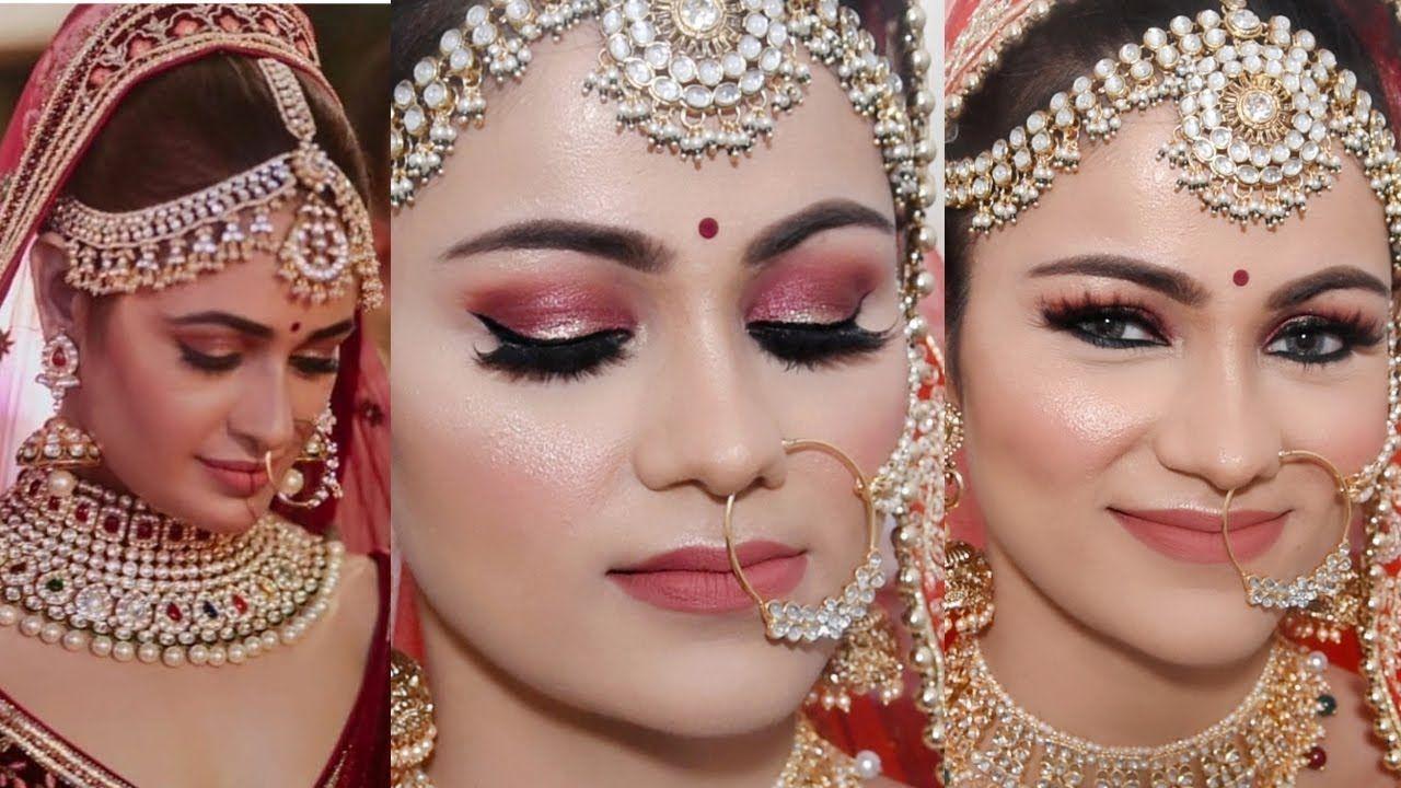 glowing indian bridal makeup tutorial yuvika chowdhary