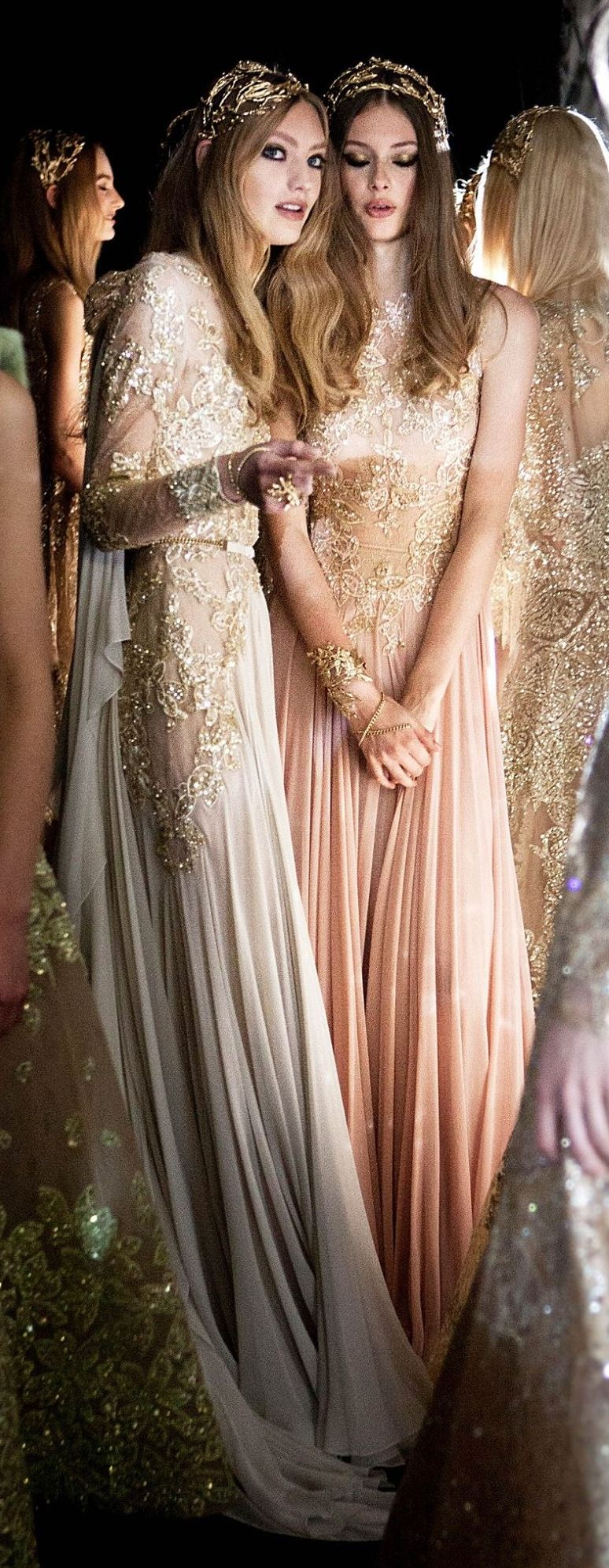 2017 in fashion elie saab gowns and couture for Elie saab blush wedding dress