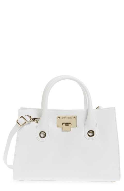 Jimmy Choo Small Riley Leather Crossbody Bag