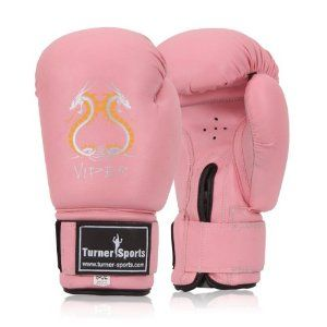 Muay thai kickboxing gloves. Love my pink gloves