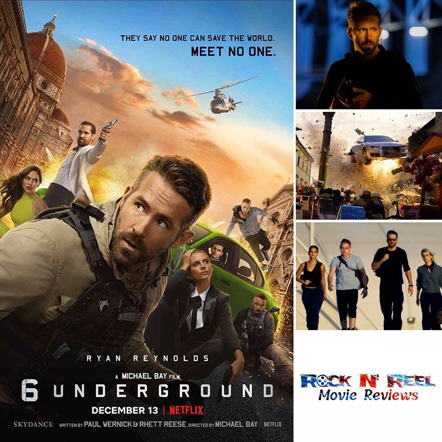 Moviereview 6 Underground 2019 Overall While 6 Underground Displays Amazing Visuals And Audio Tracks Which Is Pos Michael Bay Netflix Free Netflix Account