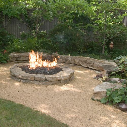 The Dirt On Decomposed Granite Pathways Outside Fire Pits Fire Pit Landscaping Fire Pit Area