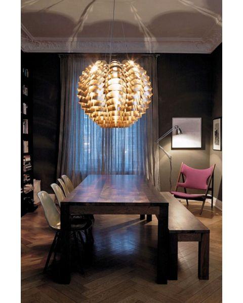 Suspension Orion Cuivre 100 Cm Max Sauze Luminaire Design Style Industriel Deco