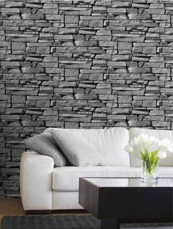 Papel Tapiz Simulando Piedra En Venta Tiles Faux Brick Wallpaper