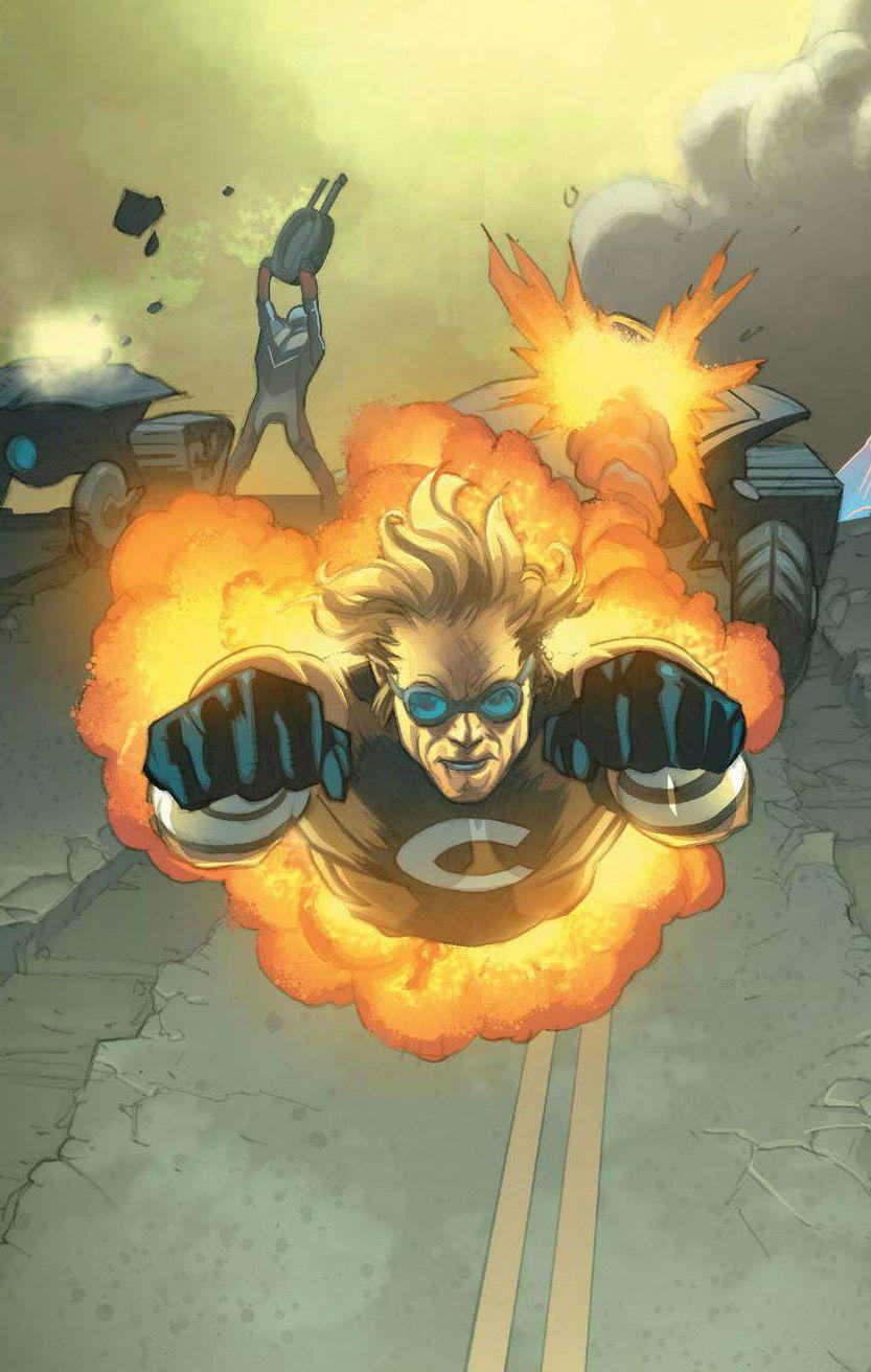 U.S.Avengers: Call it a Comeback   Cannonball marvel, Marvel comic character, Marvel
