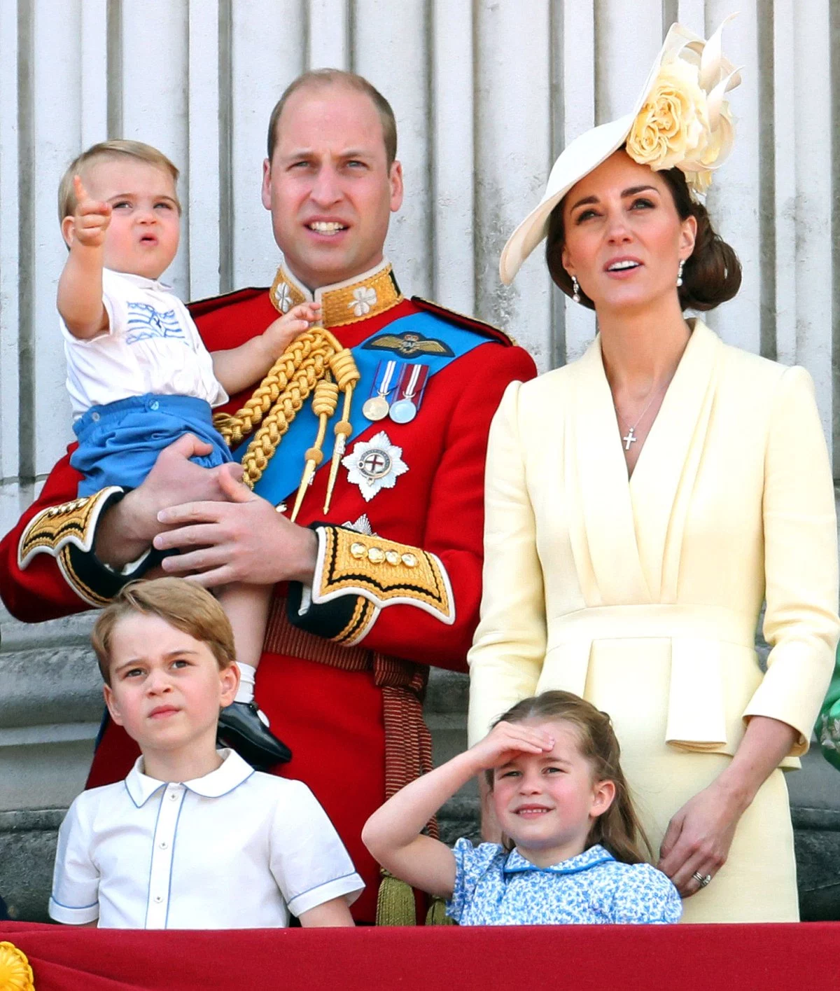 Prince Louis Makes Trooping the Colour Parade Debut: Photos