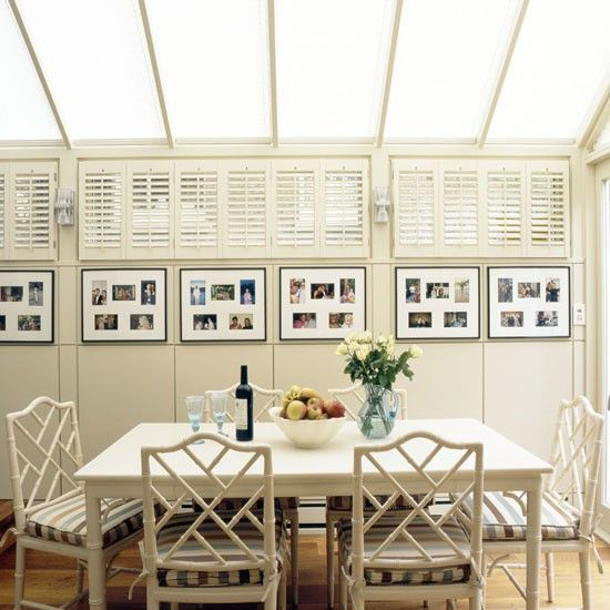 Conservatory dining ideas - 10 of the best | Conservatories, White ...