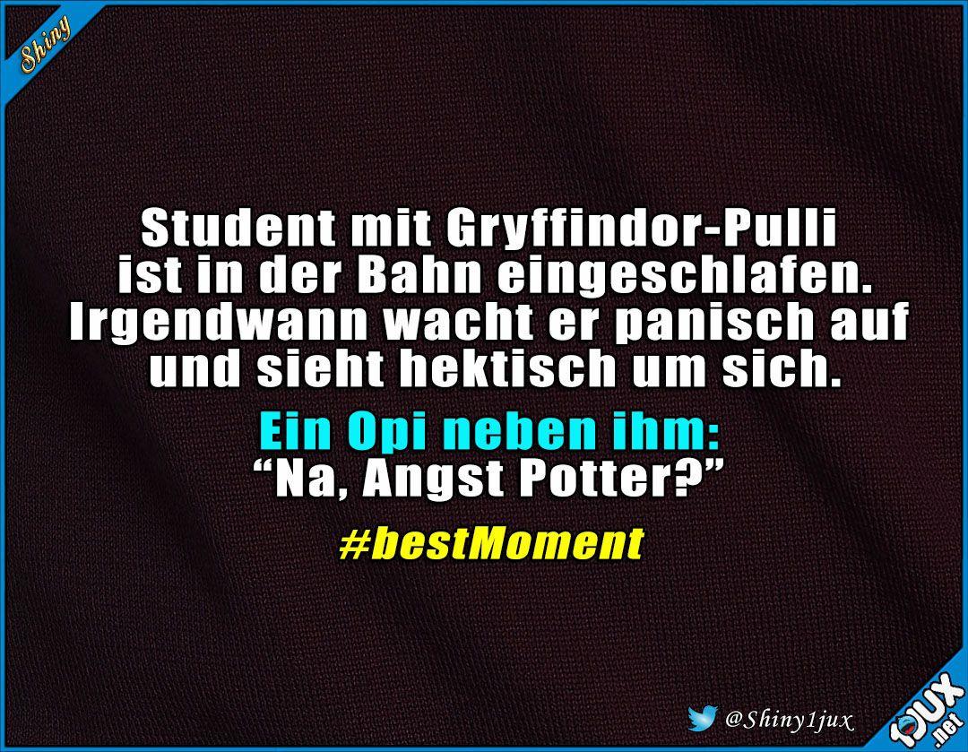 Opi Ist Kein Muggel P Gryffindor Pulli Potter Witz Witze Spass Humor Lustiges Harry Potter Texte Draco Harry Potter Witze Lustig