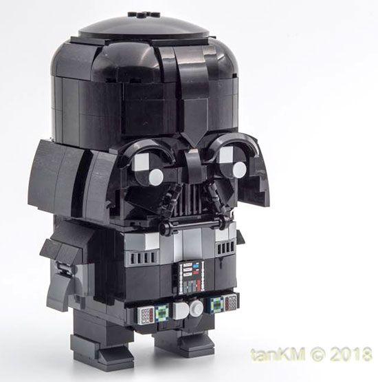 LEGO Starwars Brickheadz Darth Vader Custom | Lego-Small ...