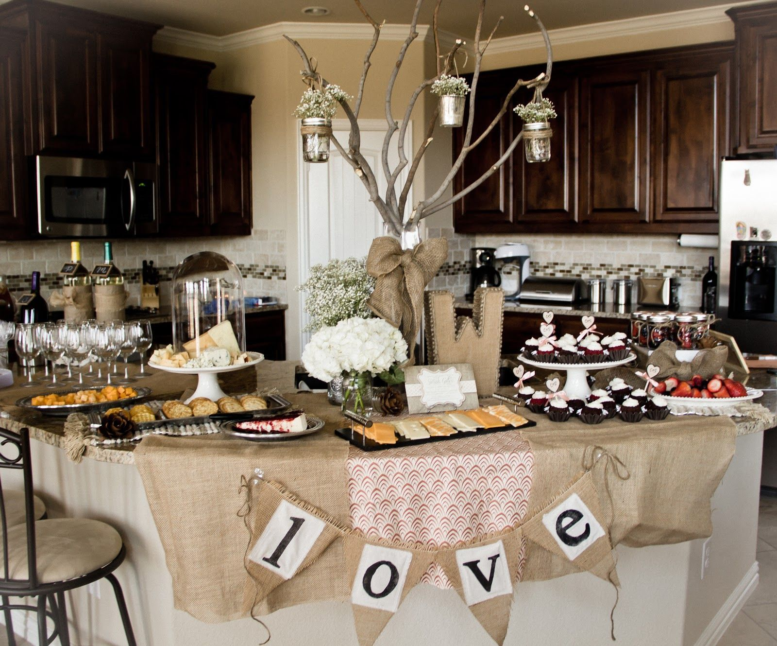 the turnages sarahs rustic chic wine pairing bridal shower bridalshowerideas