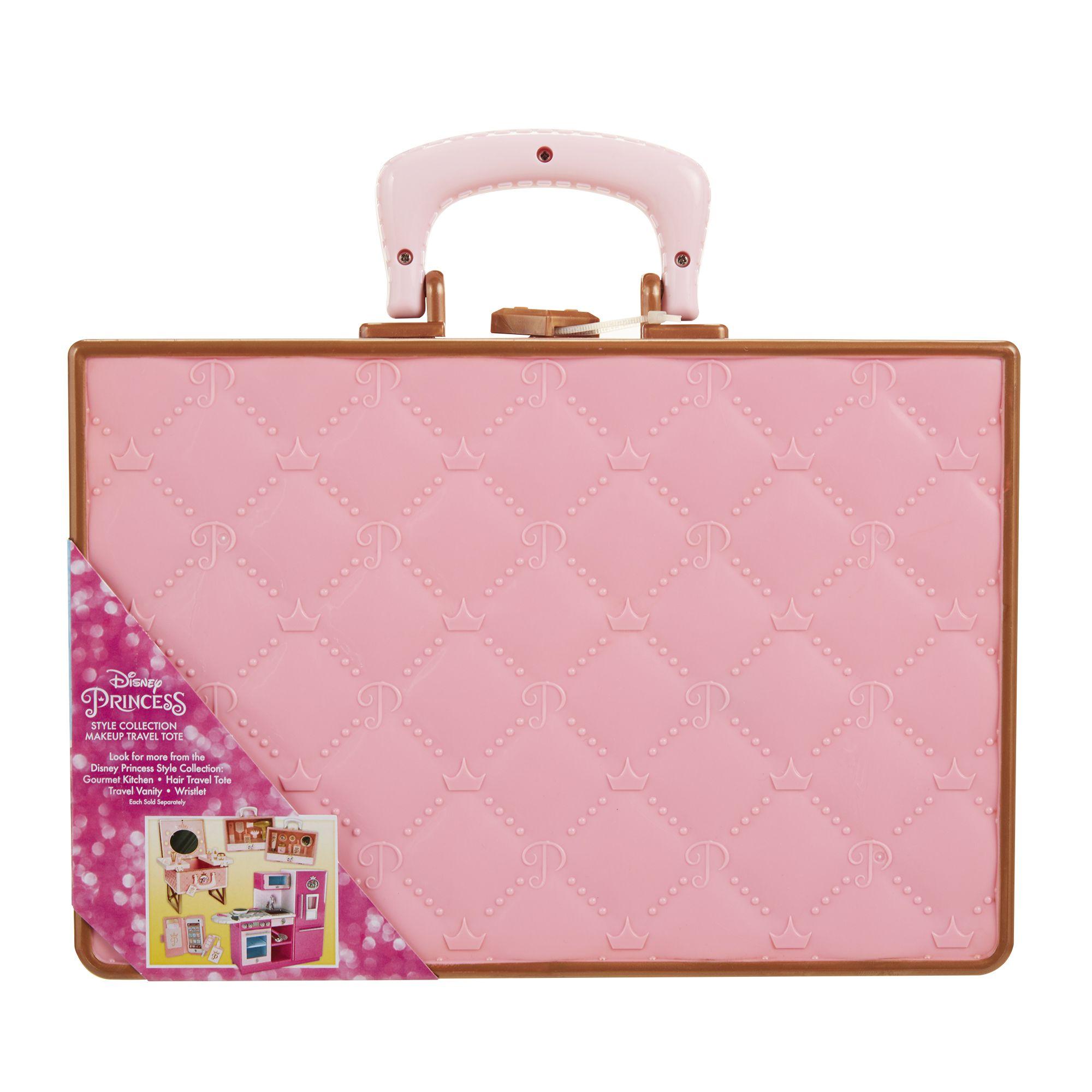 Disney princess dp makeup travel tote pink pinterest walmart