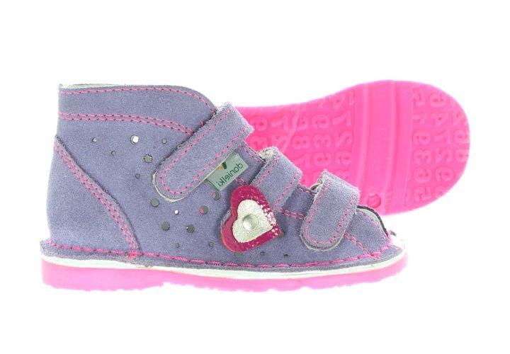Danielki Dzieciece Kapcie Profilaktyczne Ta125 Ta135 Wrzos Fluo F Baby Shoes Shoes Kids
