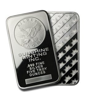 Air Tite Clear Acrylic Encased Protection Sunshine 999 Fine Silver Bullion Art Bar 1 Troy Ounce 49 99 Save 5 90 Silver Bars Silver Bullion Silver