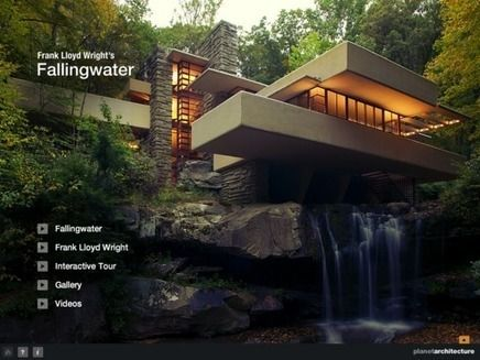 9 Awesome Maison Sur La Cascade 3d Images Falling Water Frank Lloyd Wright Frank Lloyd Wright Architecture