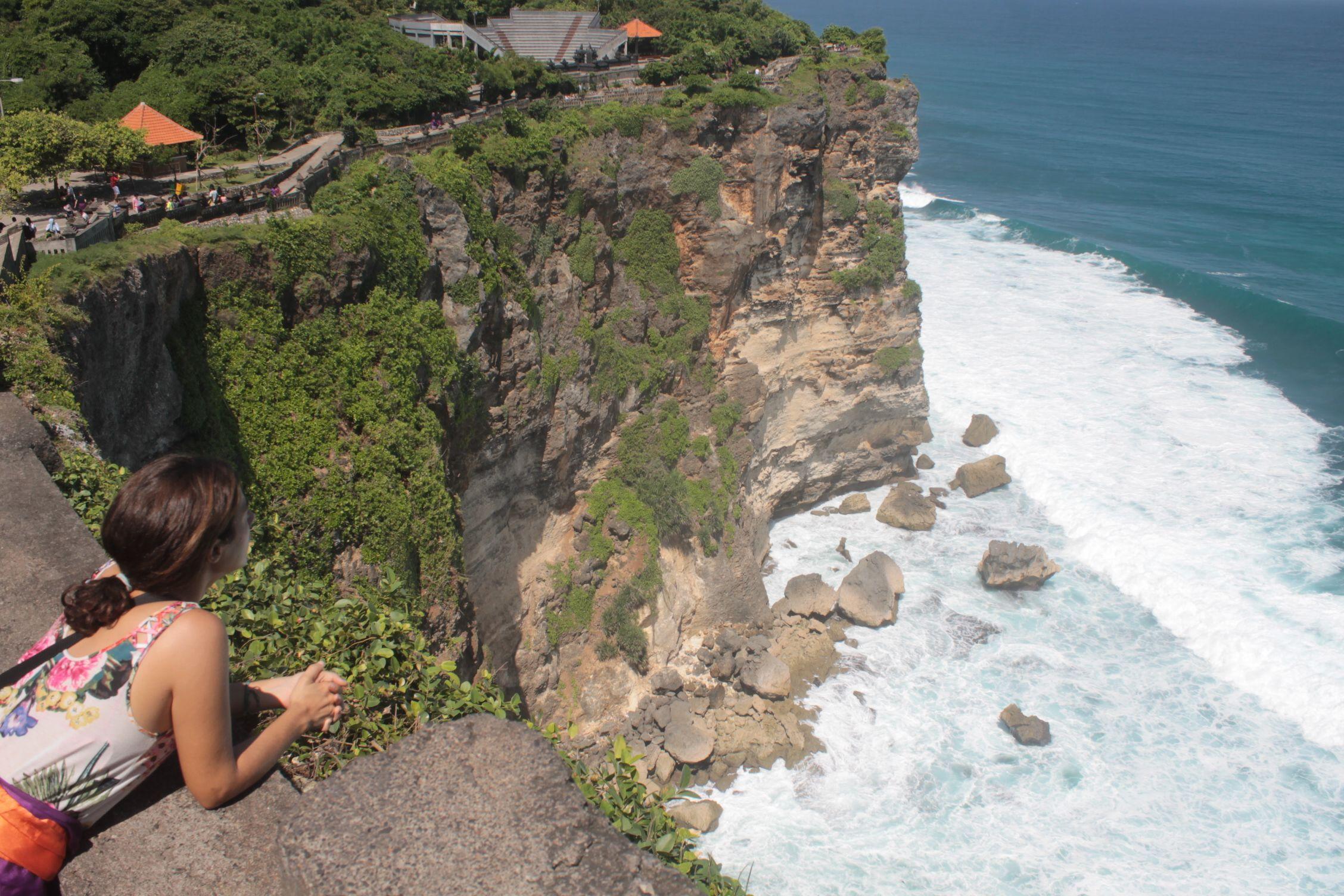 Preciosas vistas desde Uluwatu