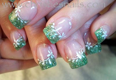 love a fun nail. currently their green but who knows next month could be purple ;-)