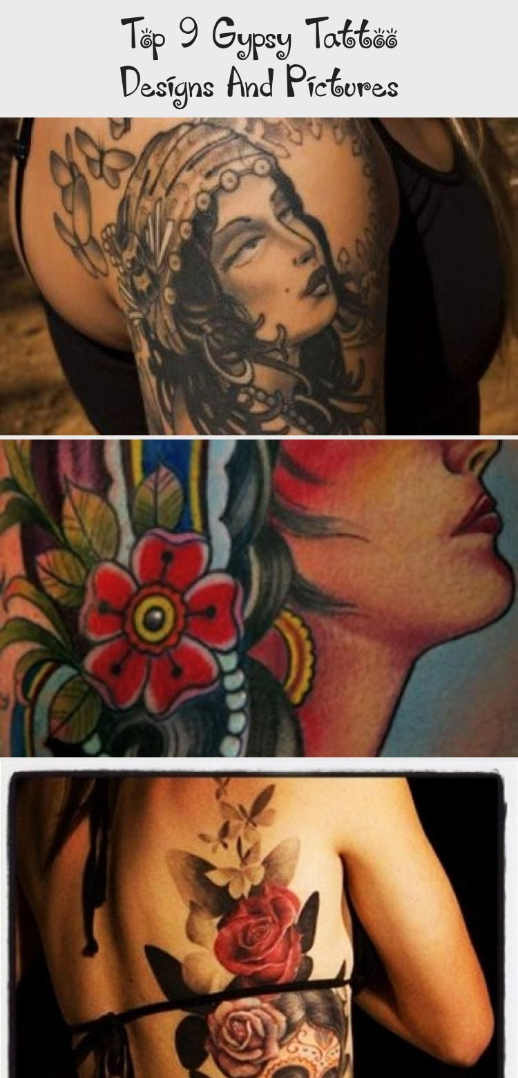 Top 9 Gypsy Tattoo Designs And Pictures