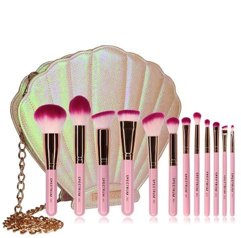12 piece siren brush set  roll in 2019  unique makeup
