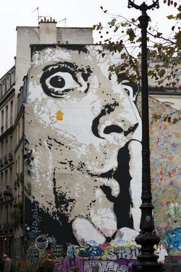 Paris Street Art Photo By Valérie Gorris At Vgr95 Street Art