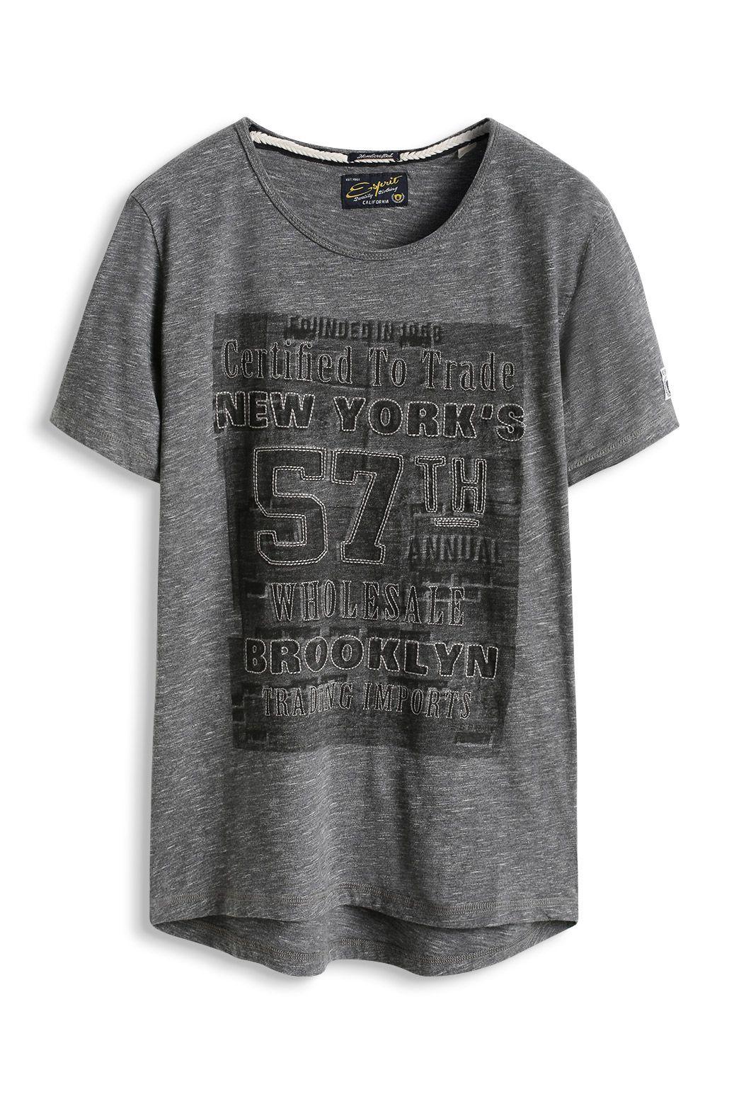 Shirt À Jersey Flammé T La En Esprit 100 Sur Acheter Coton 65ZCqy