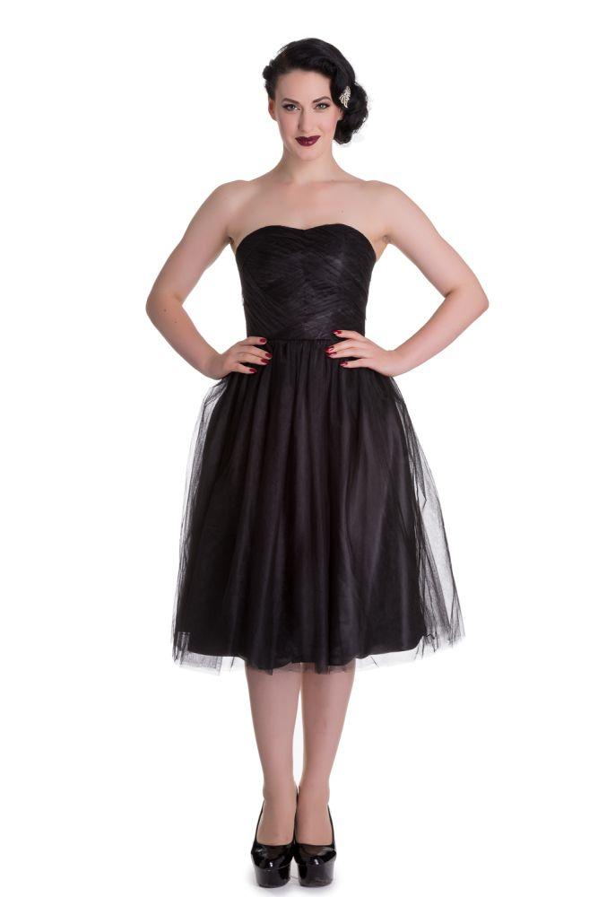 Hell Bunny Tamara Party Dress in Black