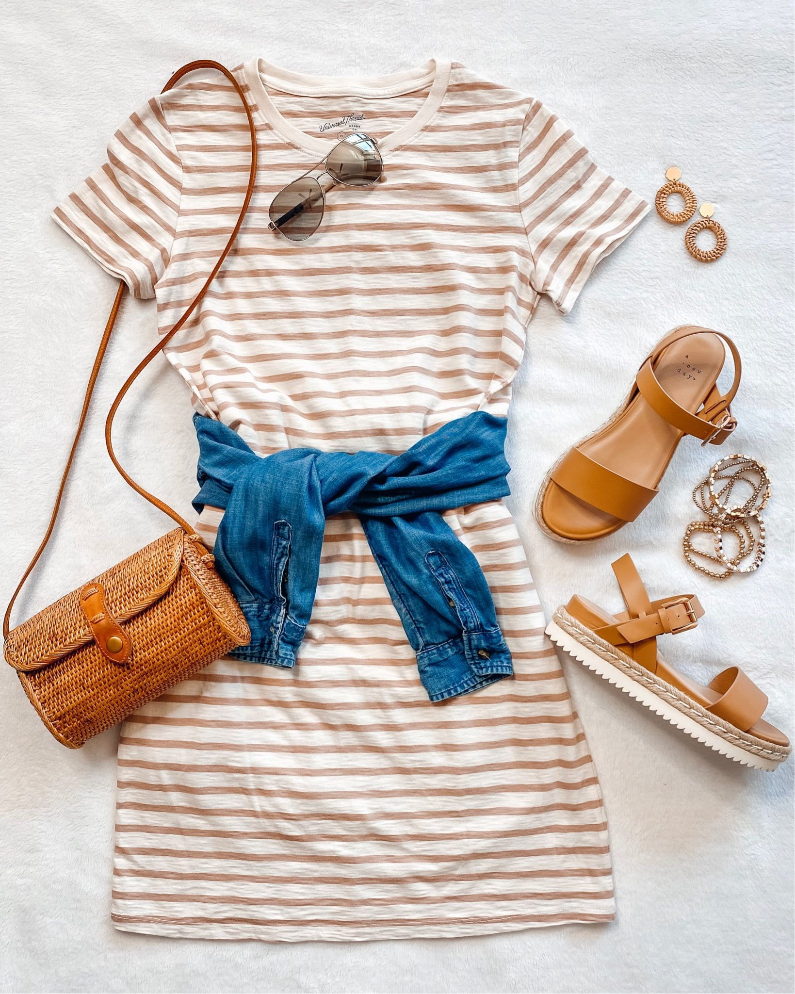 Target style casual outfit idea affordable fashion spring summer SHOP MY INSTAGRAM - Everyday Holly