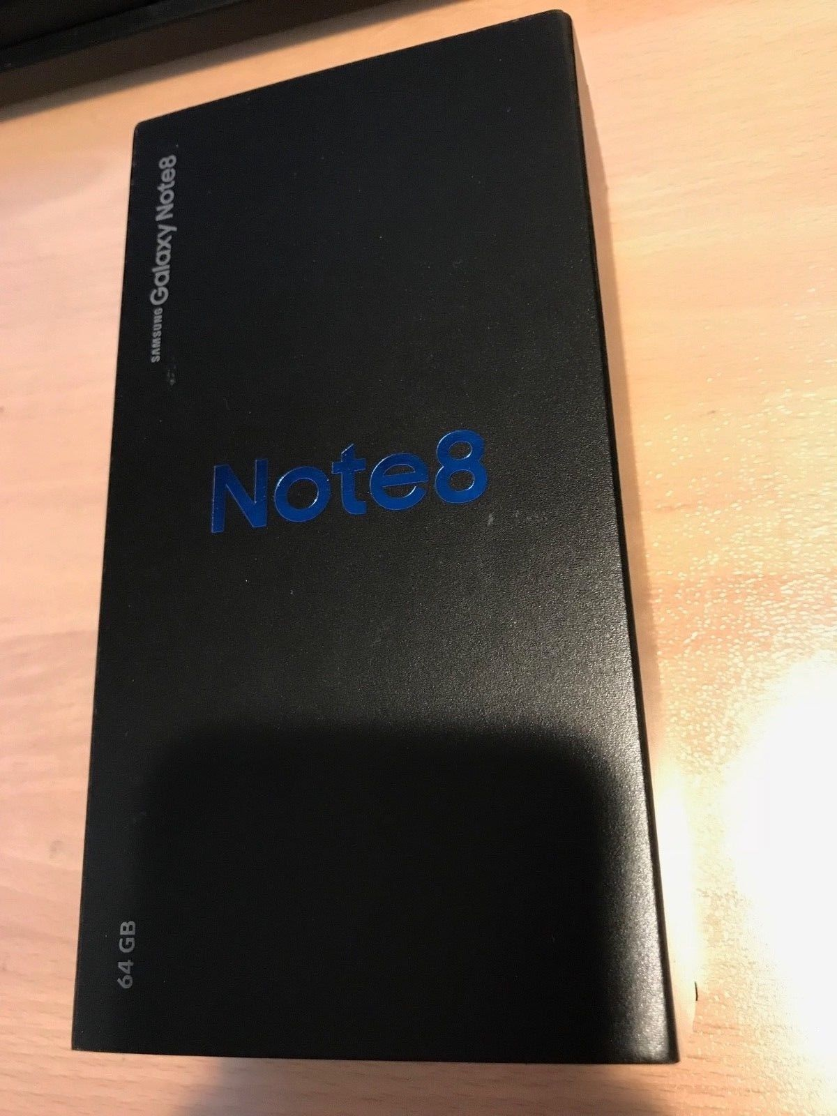 Samsung Galaxy Note 8 T Mobile Midnight Black Brand New Sealed Clean IMEI