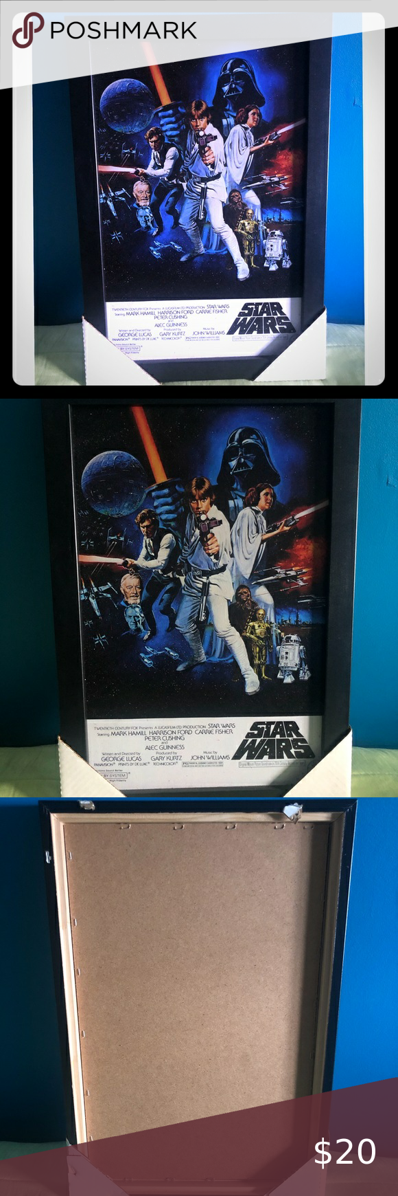Star Wars Framed Picture New In 2020 Picture Frames New Star Wars Pictures