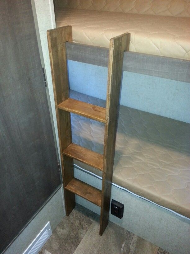 R Pod Bunk Ladder Bunk Bed Ladder Camper Bunk Beds Rv Bunk Beds