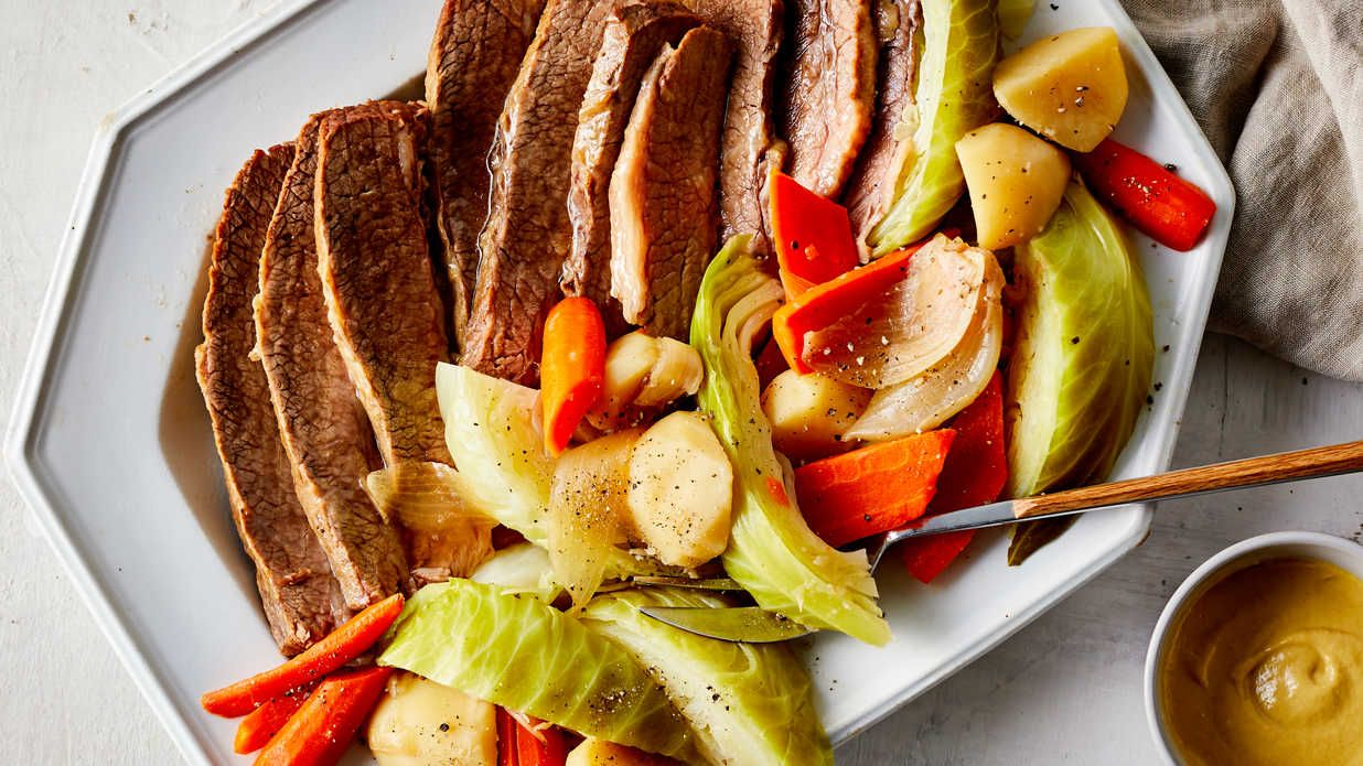 SlowCooker Corned Beef and Cabbage Recipe in 2019