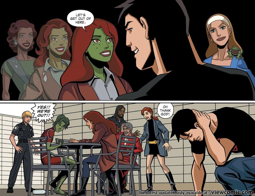Young Justice Outsiders Dc Universe Exclusive 02 Of 02 2019 Viewcomic Reading Comics Online For F Young Justice Comics Online Superboy And Miss Martian