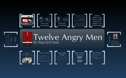 Twelve angry men essay questions