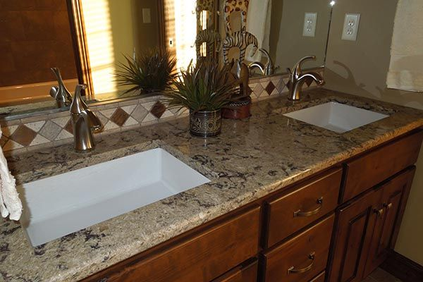 Pictures Of Bathrooms With Granite Countertops Google Search Bathroom Countertops Granite Bathroom Countertops Outdoor Kitchen Countertops