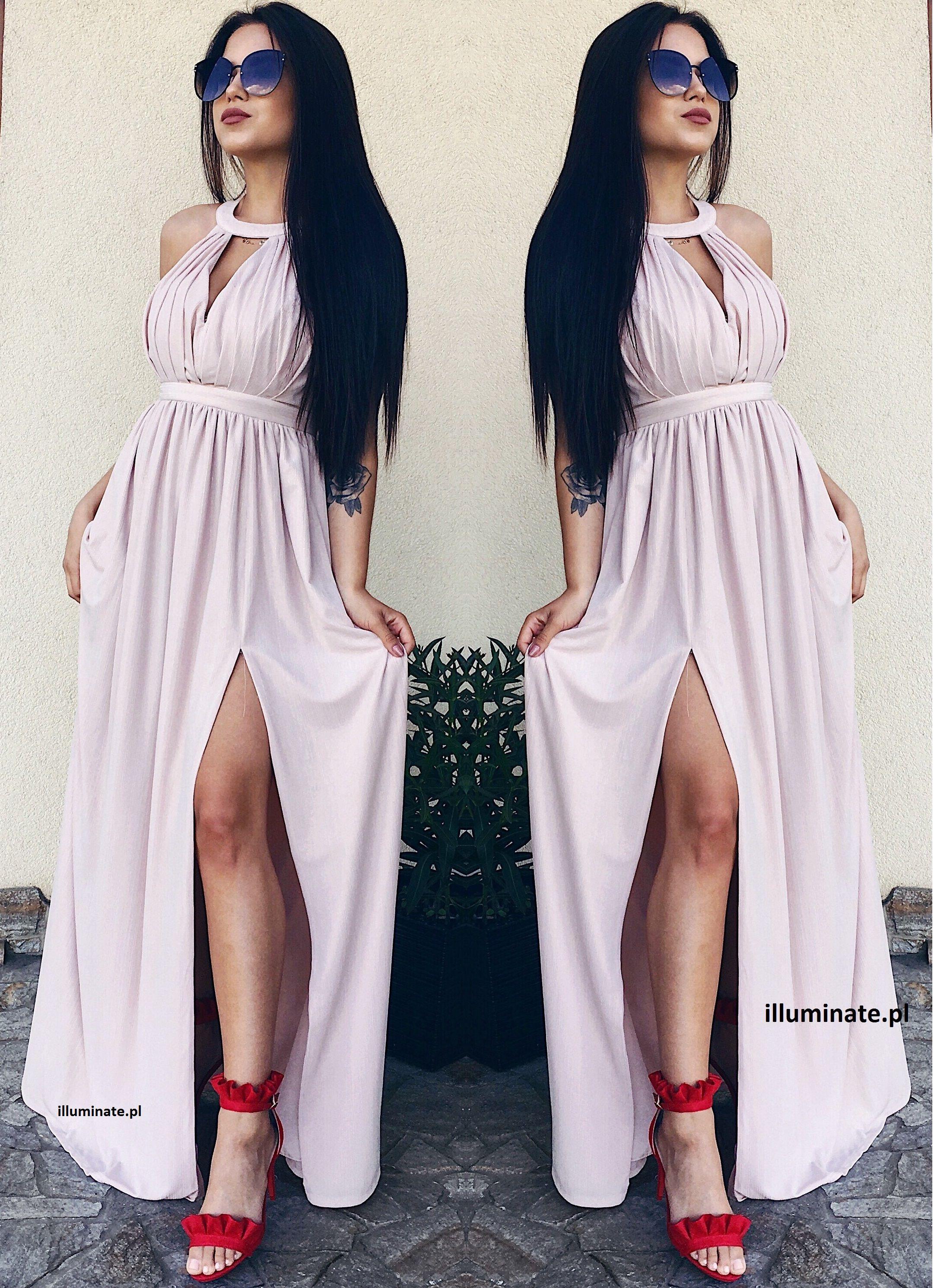 4be3c3efaf Maxi dress nude. Wedding dress