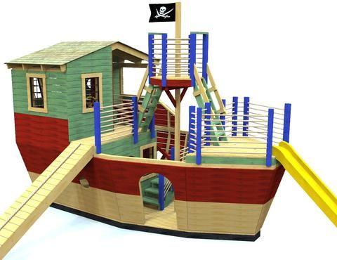 Davy Jones' Locker Pirateship Plan (With images)   Play ...