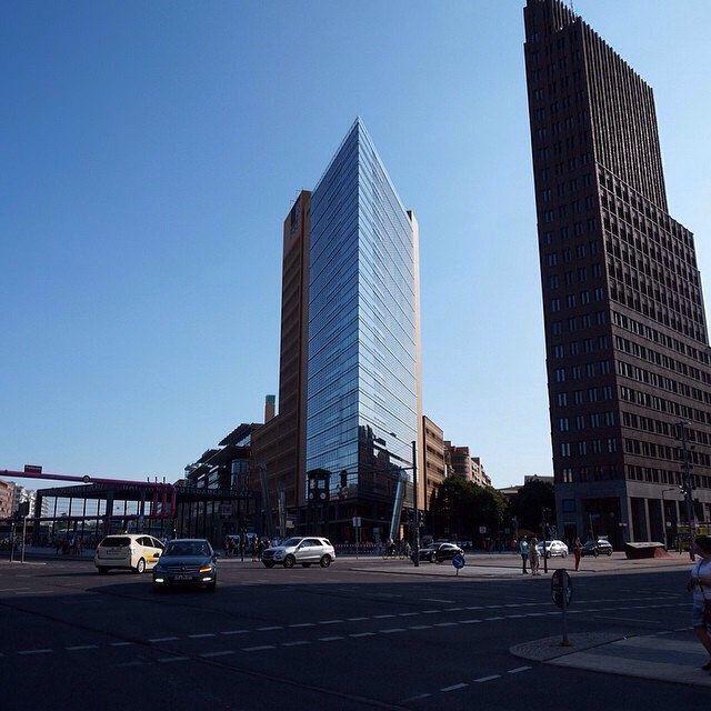 Modern Architecture Berlin modern architecture - potzdamerplatz, berlin #modern #moderne