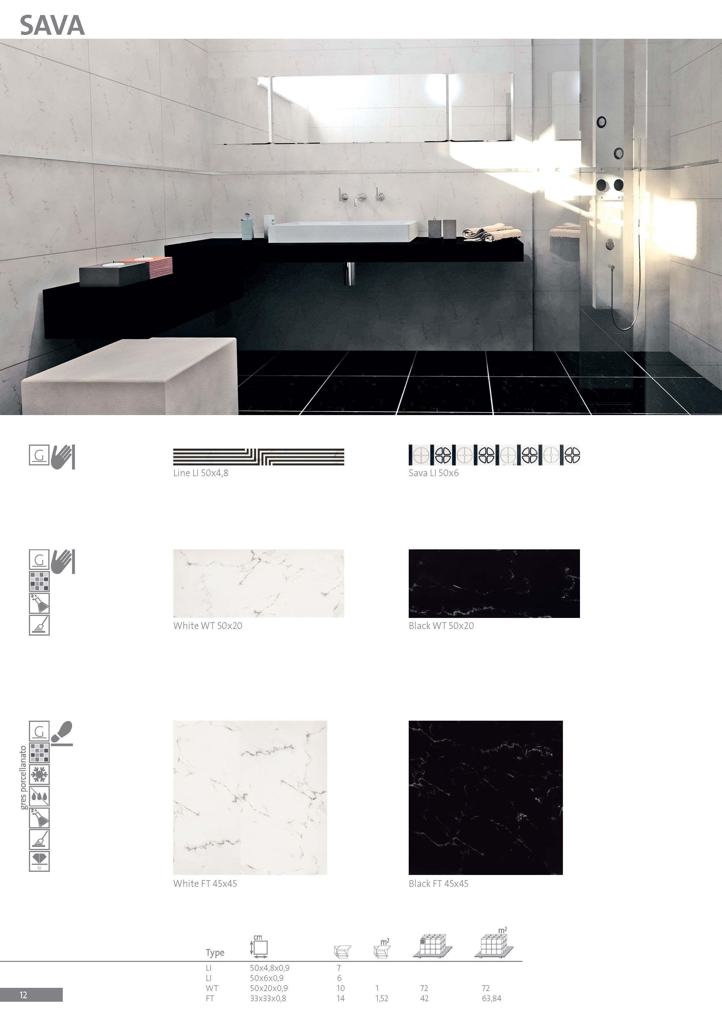 Luxury Ceramic Tiles Sava Collection Produced By Zorka Keramika