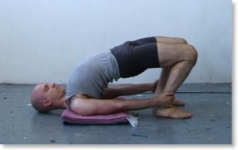 chatushpadasana  yoga shoulder stand poses