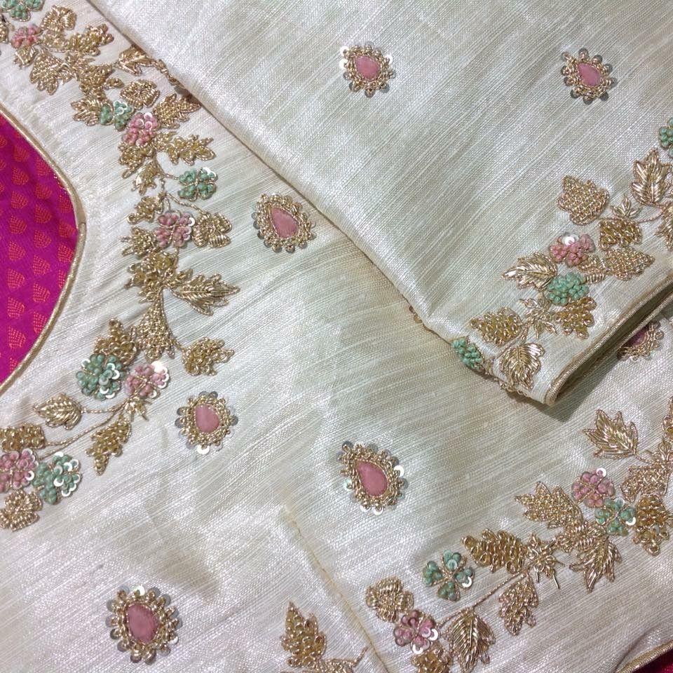 Pin de prathyusha siri en blouses | Pinterest